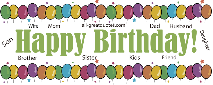 Free Birthday Cards For Facebook Online Friends Family Free