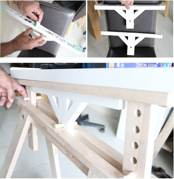 The Ikeahacked Adjustable Angle Drawing Table Drawing Table Dark Bedroom Furniture Remodel Bedroom