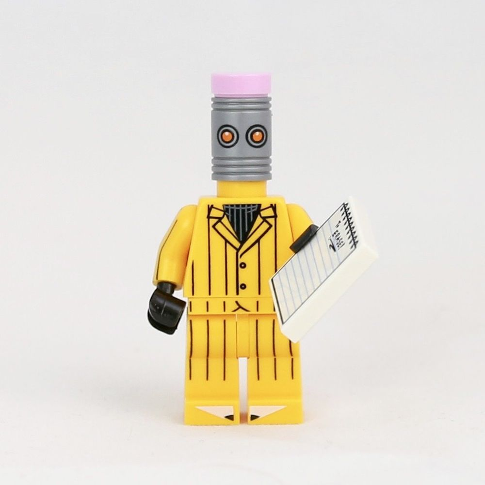 LEGO NEW Minifig Eraser Pencil Head from BATMAN the Movie ...