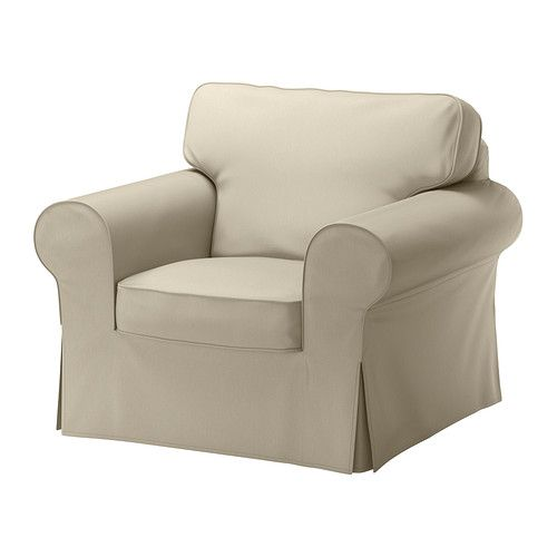ektorp housse de fauteuil - tygelsjö beige - ikea | déco : salon