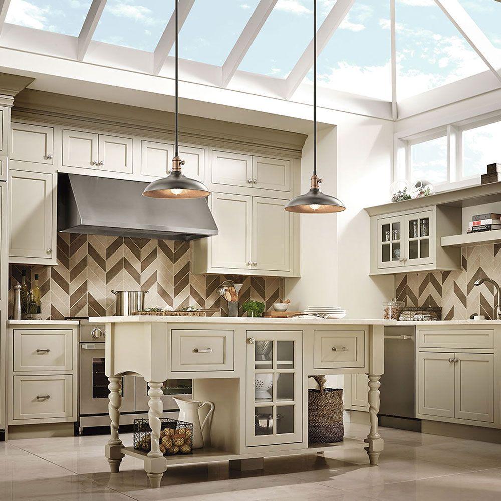 Kitchen lighting. Cobson Collection. 1 Light Pendant/ Semi-Flush ...