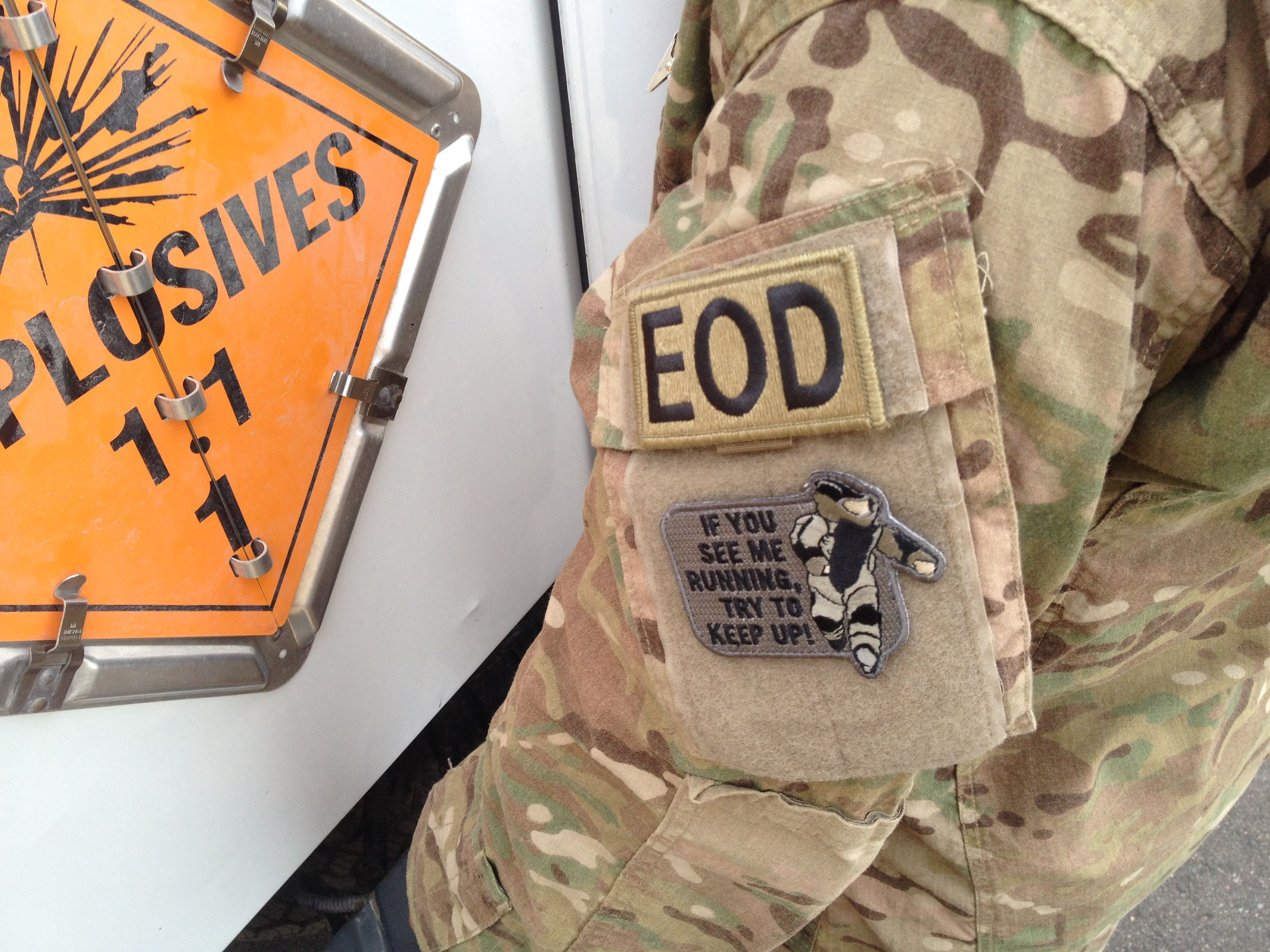 EOD, if you see me running, Air Force EOD, EOMFD | EOD