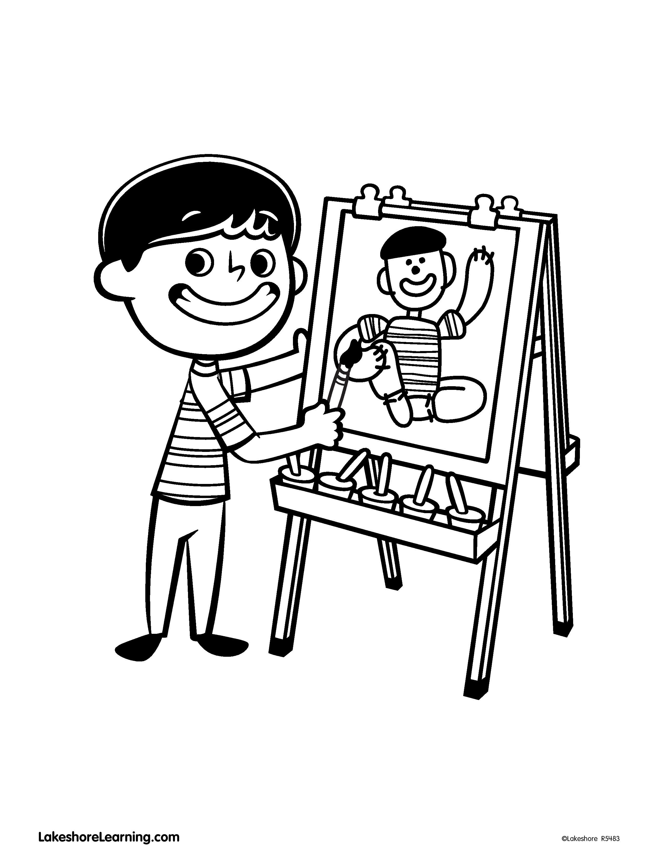 Click On The Pin To Print Out Alex S Coloring Sheet Coloring Sheets Color Vault Boy