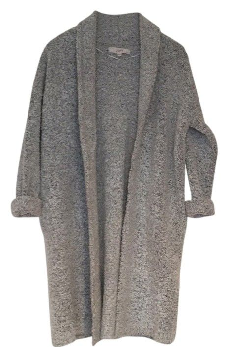 7c5e7748d7e Grey Sweater Coat Cardigan | cool clothes | Sweater coats, Sweaters ...