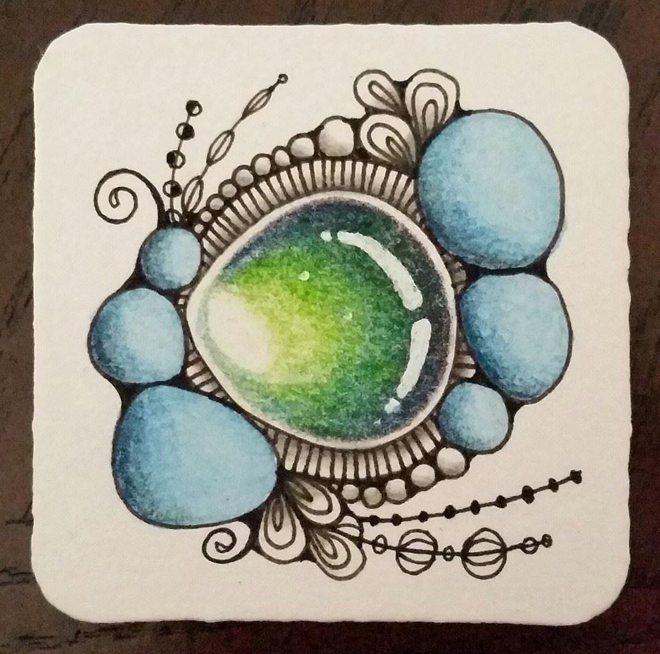 Pin de hannah cardoze en zentangles jewels and gems for Tecnica para pintar piedras