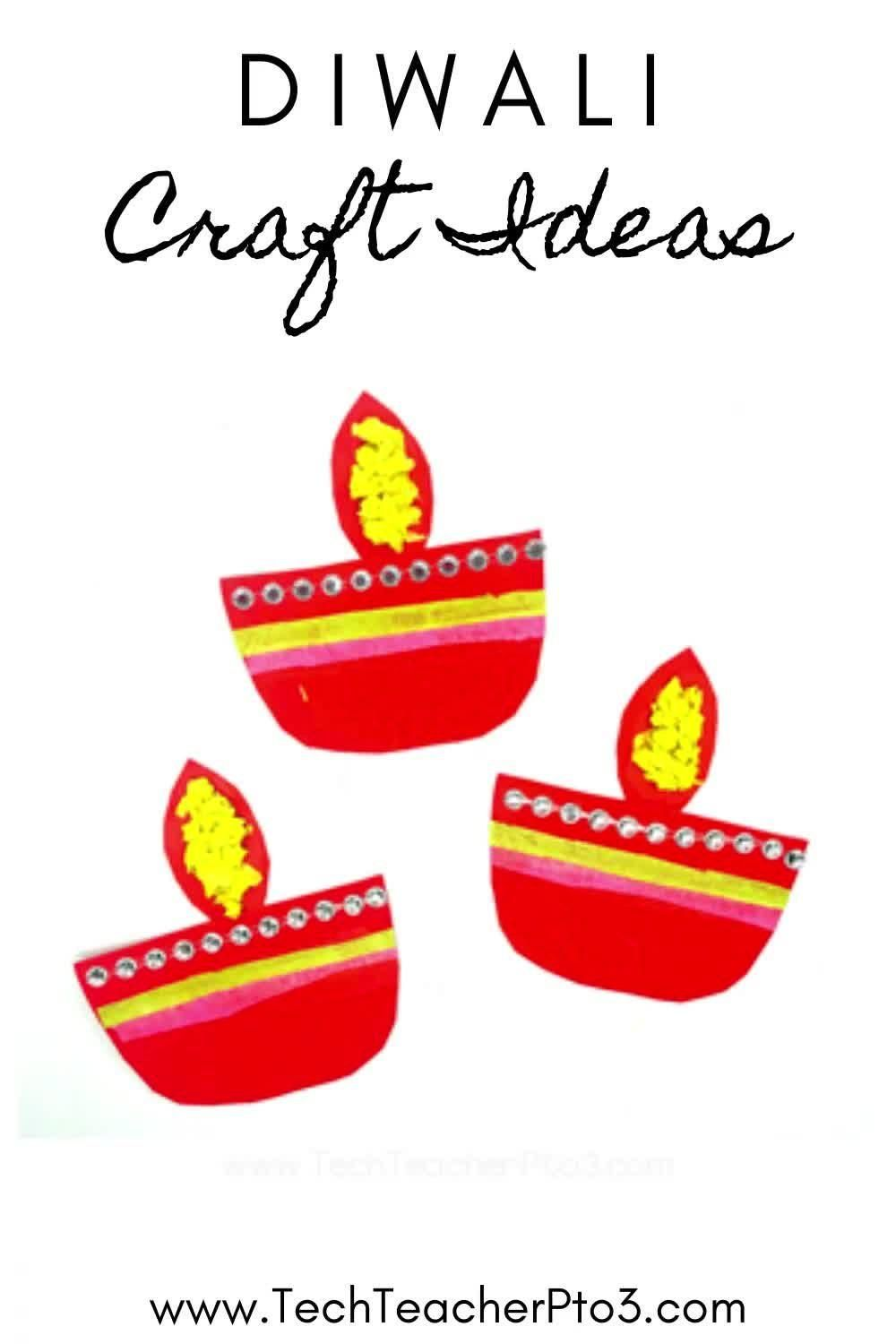 Easy Crafts For Celebrating Diwali In The Early Years Classroom Video Early Years Classroom Holiday Lessons Crafts [ 1500 x 1000 Pixel ]