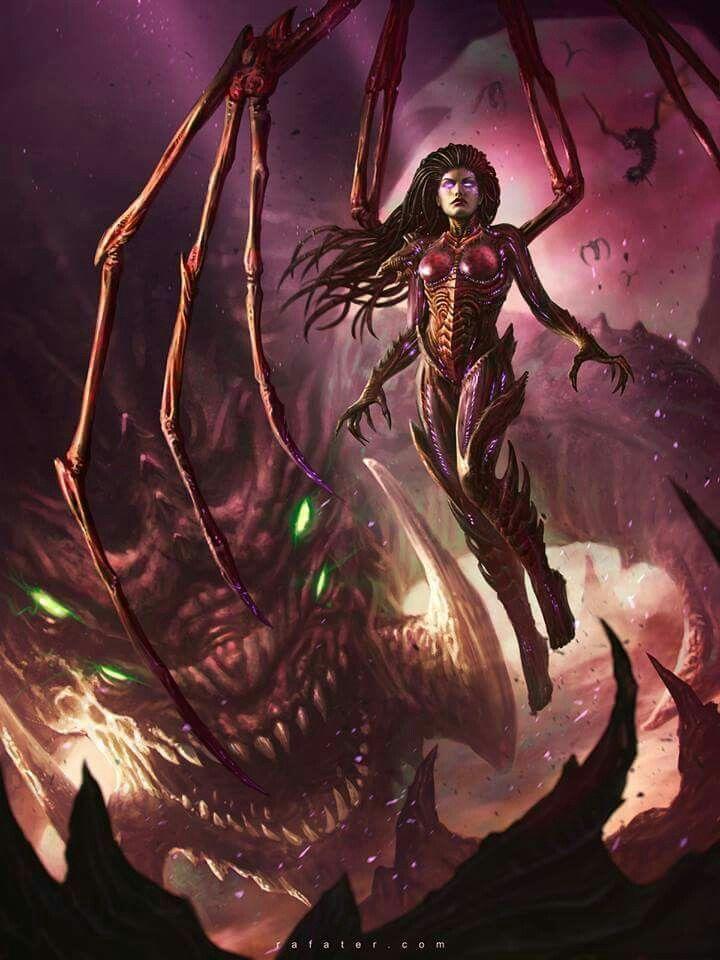 video games swarm Sarah Kerrigan Queen Of Blades StarCraft
