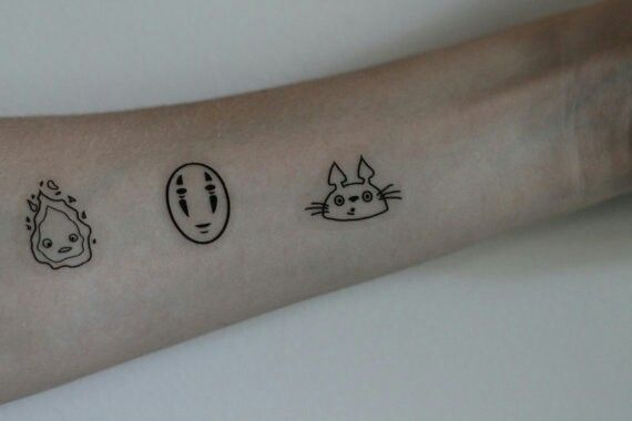 Studio Ghibli Tattoo Simple Google Search Ghibli Tattoo Fandom Tattoos Tattoos