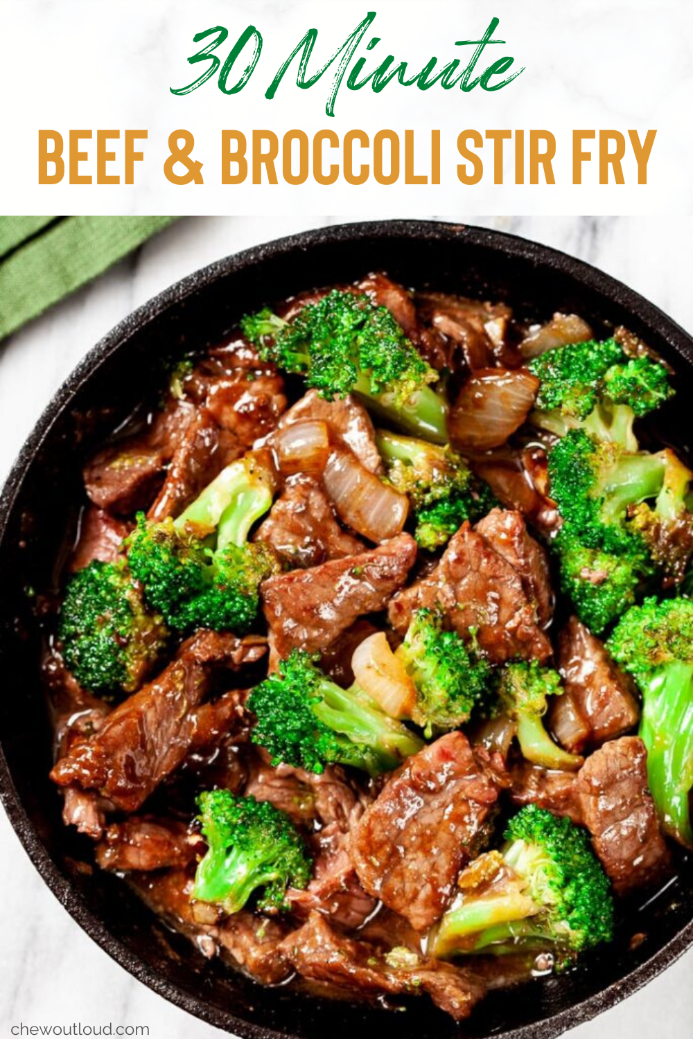30 Minute Beef And Broccoli Stir Fry Beef Recipes Easy Recipes Healthy Beef Recipes