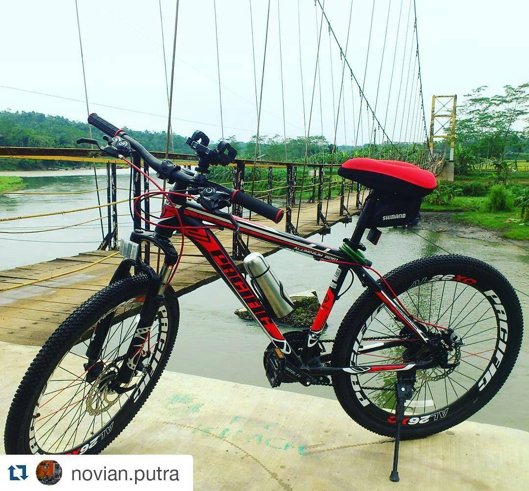 Repost Novian Putra Jembatan Nya Keren Pak Sepedanya Ganteng D