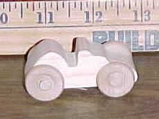 Handcrafted Wood Toy Race Car 110AAH-U unfinished or finished by VMWoodFactree for $1.76