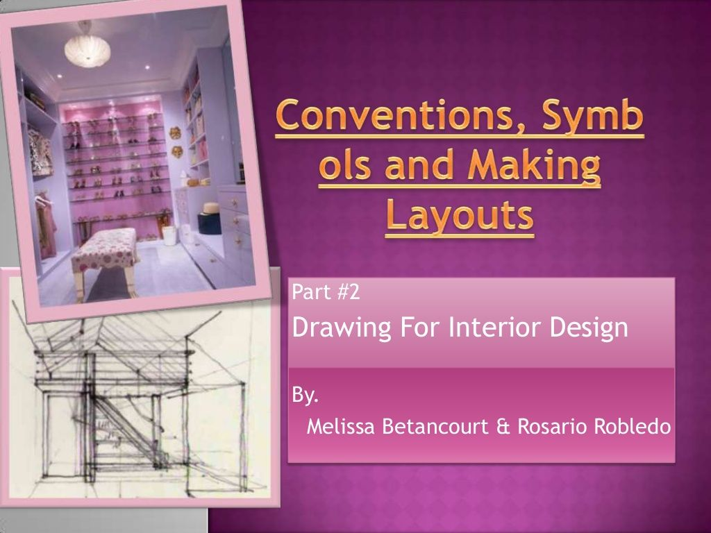 Drawing For Interior Design Part 2 By Melissa Betancourt Via