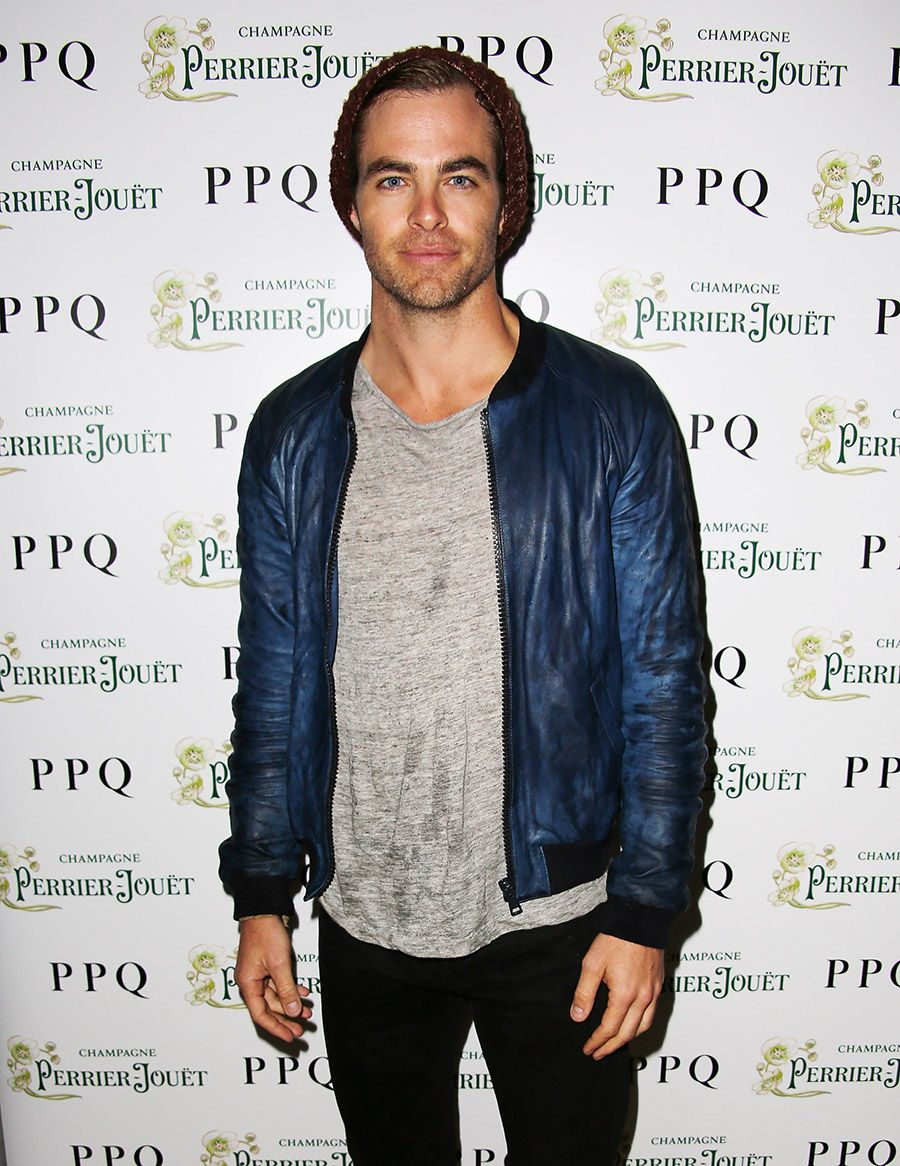 Chris Pine | PPQ SS14 After Show Party Cocktails And VIP Dinner