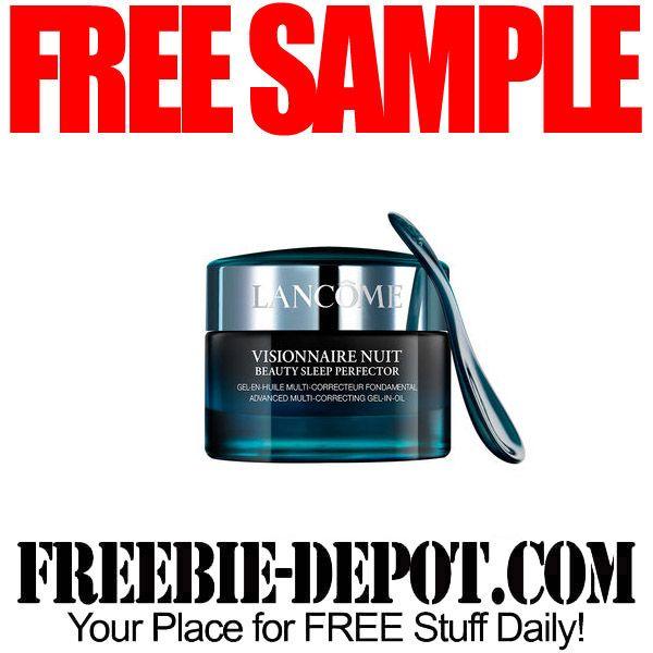 ►► FREE SAMPLE - Lancome Visionnaire Nuit Beauty Sleep Perfector ►► #Free, #FREESample, #FREEStuff, #Freebie ►► Freebie-Depot