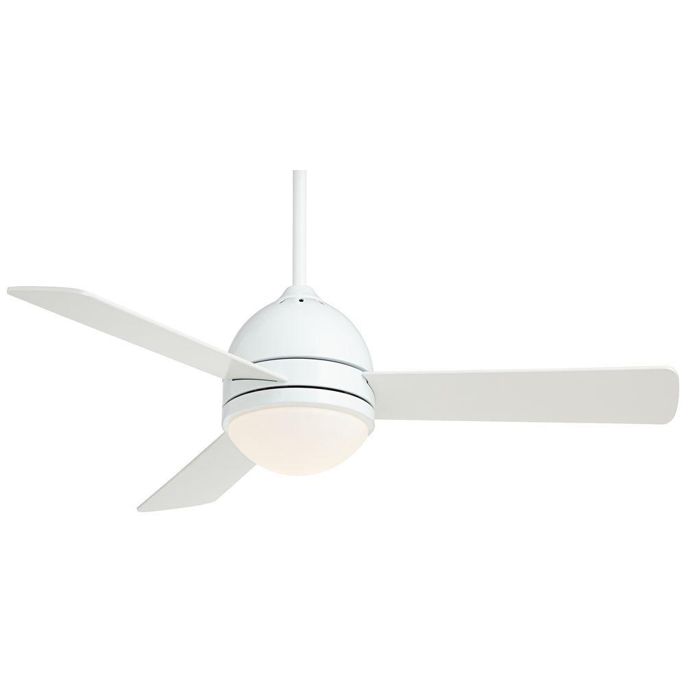 44 Casa Vieja Trifecta White Ceiling Fan Style 54a60
