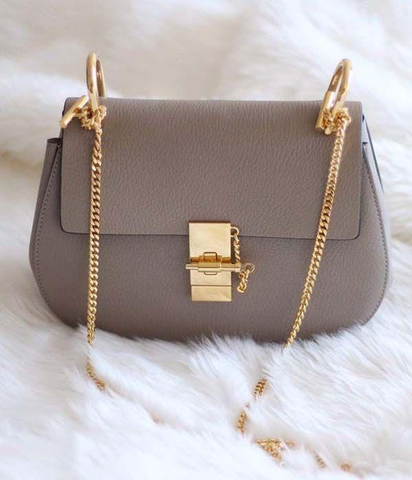 Chloe Drew Bag 2016 in Grey  eff05a3e35
