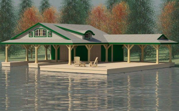 Boathouses Boathouse Design House Boat House Design