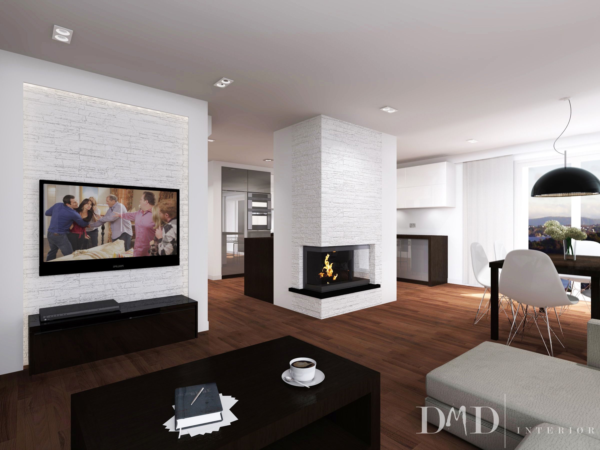 Interior design project of an apartment at Ytre Arna DMD interi¸r