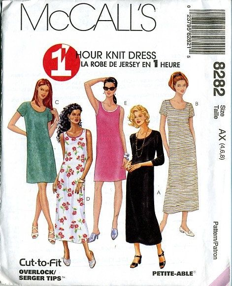 Vintage Sewing McCalls Pattern 8282 New and Uncut by KnittyDebby ...