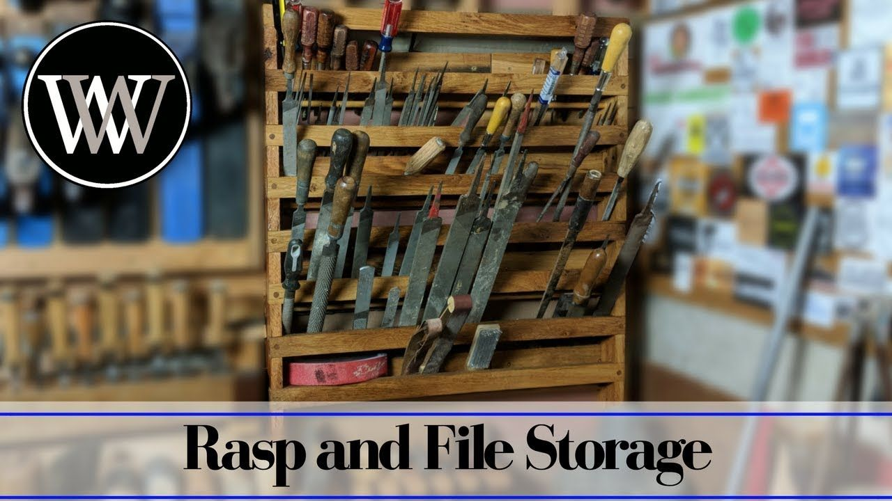 File And Rasp Storage Rack French Cleat Hand Tool Storage System Youtube Tool Storage Storage Storage System