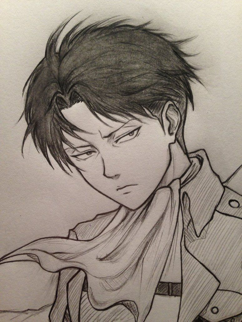 levi ackerman ink drawing Google Search Attack on
