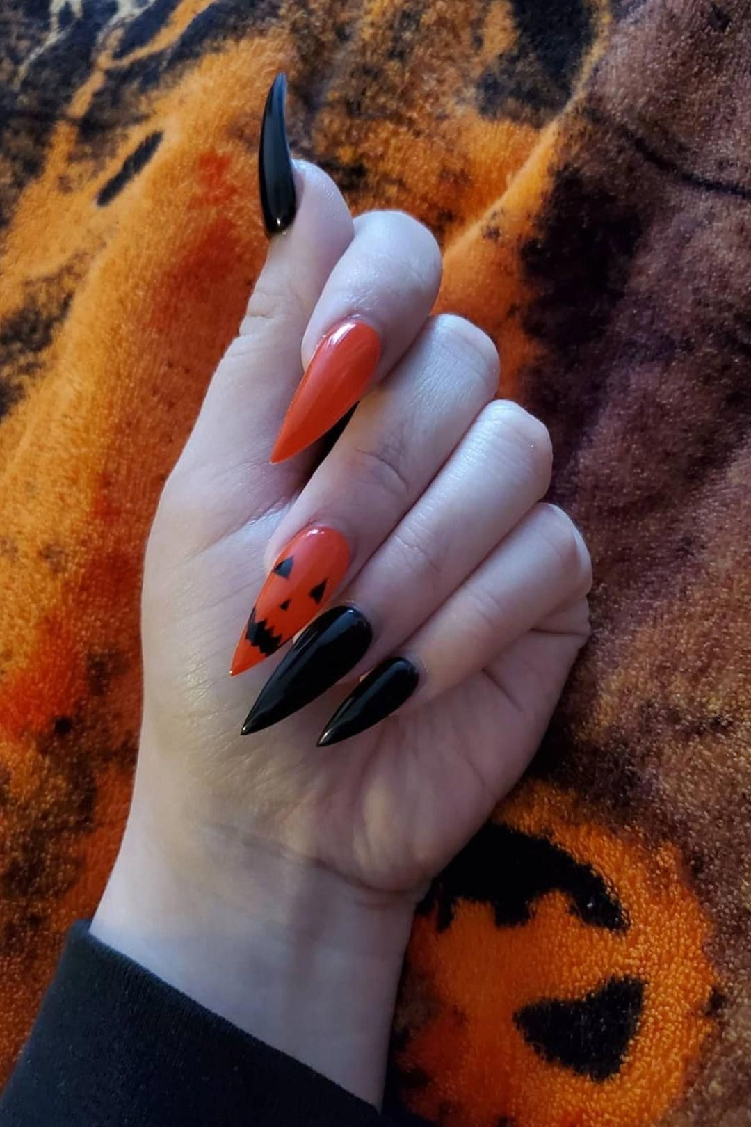 nail shapes almond Brown #almondshapednails in 2020 ...