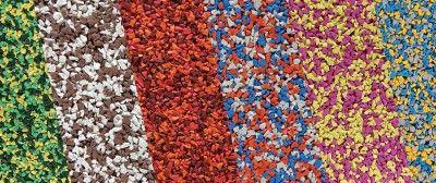 EUROFLEX(kraiburg)® EPDM multicolor slab granulés de caoutchouc