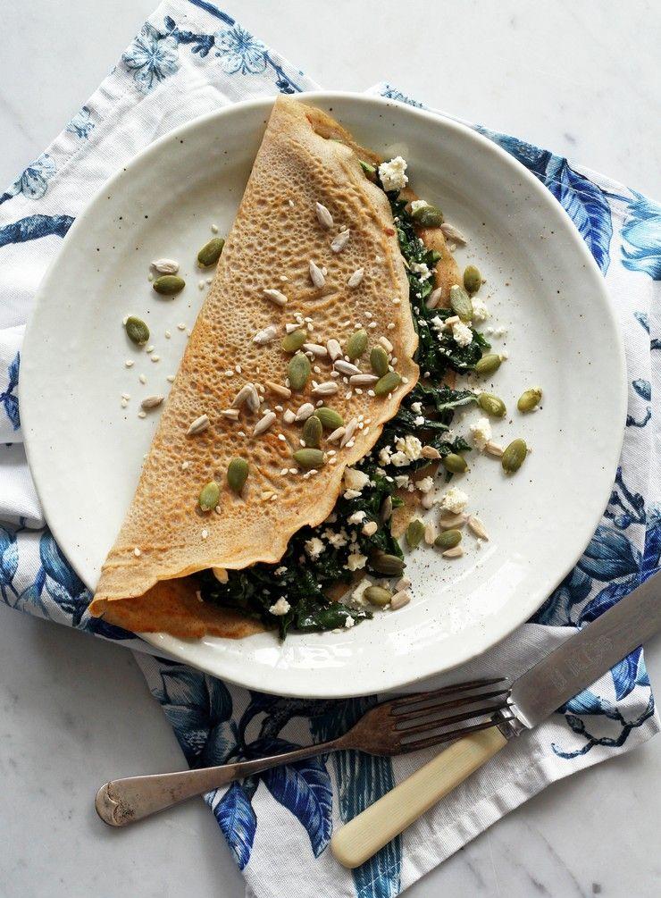 Buckwheat crepes buckwheat crepes vegetable recipes