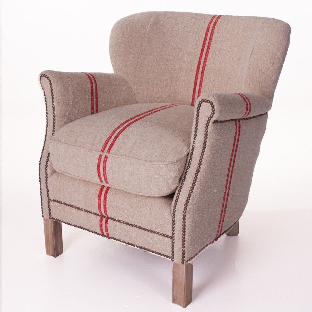 Elizabeth Stanhope Floursack Chair Natural Armchairs