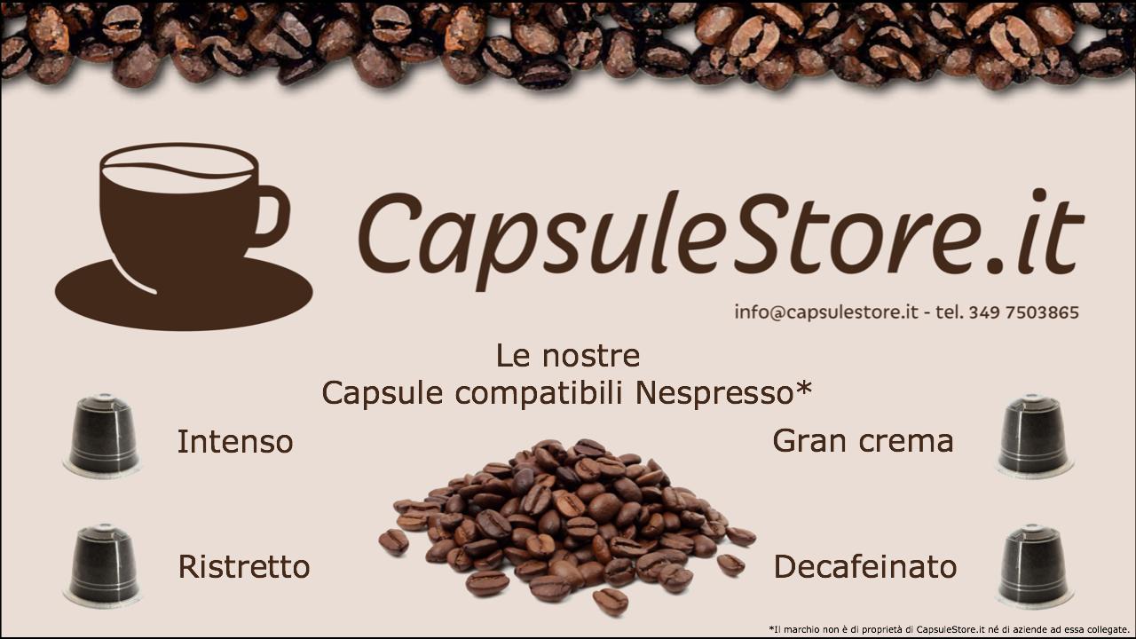 Capsule caffè proposte da CapsuleStore.it