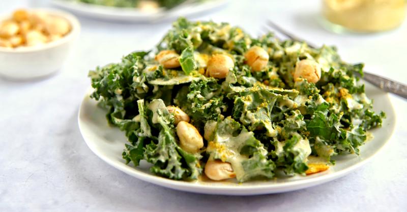 Vegan Keto Kale Caesar Salad Gluten Free Nut Free Coconut Free Meat Free Keto Vegan Keto Recipes Recipe Kale Caesar Salad Vegan Keto Vegan Keto Recipes