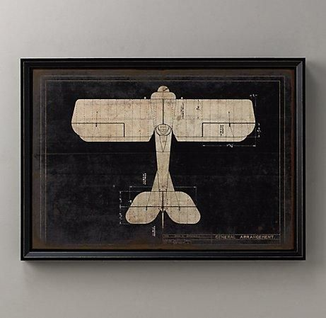 Suzie artwall decor model g airplane blueprint wall art suzie artwall decor model g airplane blueprint wall art restoration malvernweather Gallery