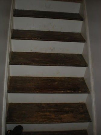 Best Refinishing An Hardwood Staircase Stair Renovation 640 x 480