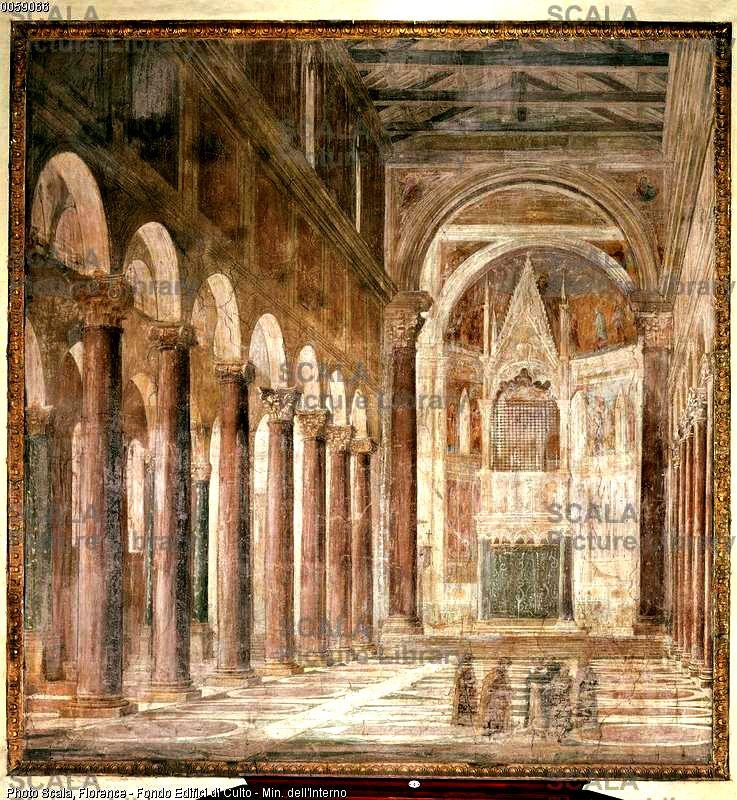 Lateranska bazilika unutrašnjost