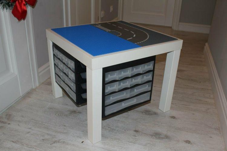 lego tisch f rs kinderzimmer selber bauen diy ideen f r tollen spieltisch einrichtung lego. Black Bedroom Furniture Sets. Home Design Ideas