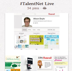@Fishdog's recap of our @Pinterest post on @TalentNet Live