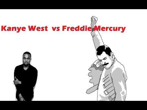 Kanye West Vs Freddie Mercury Bohemian Rhapsody Youtube Wahrheit