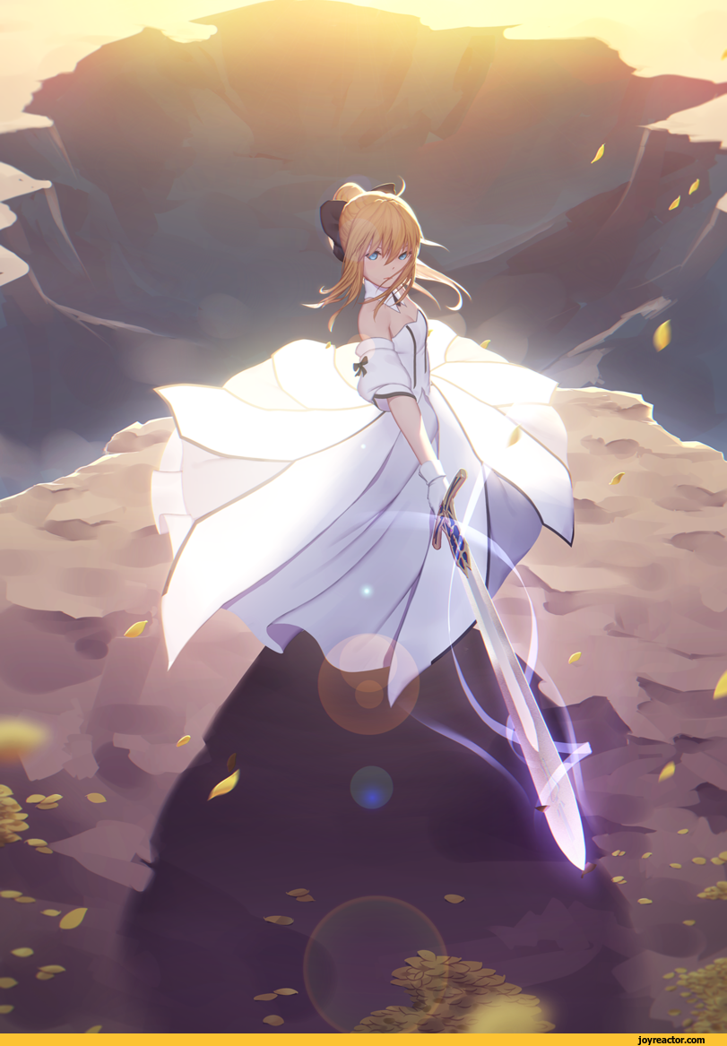 anime,Fate (series),saber,Maredoro Anime, Fate stay