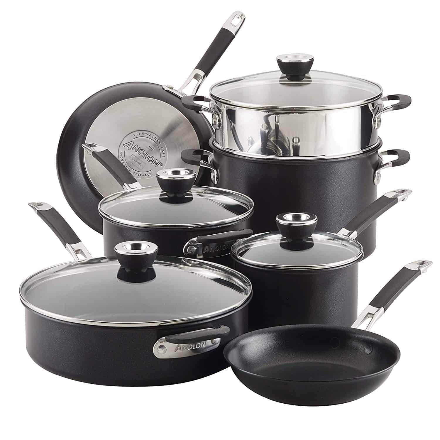 Anolon Smart Stack Hard Anodized Nonstick Cookware Set Review