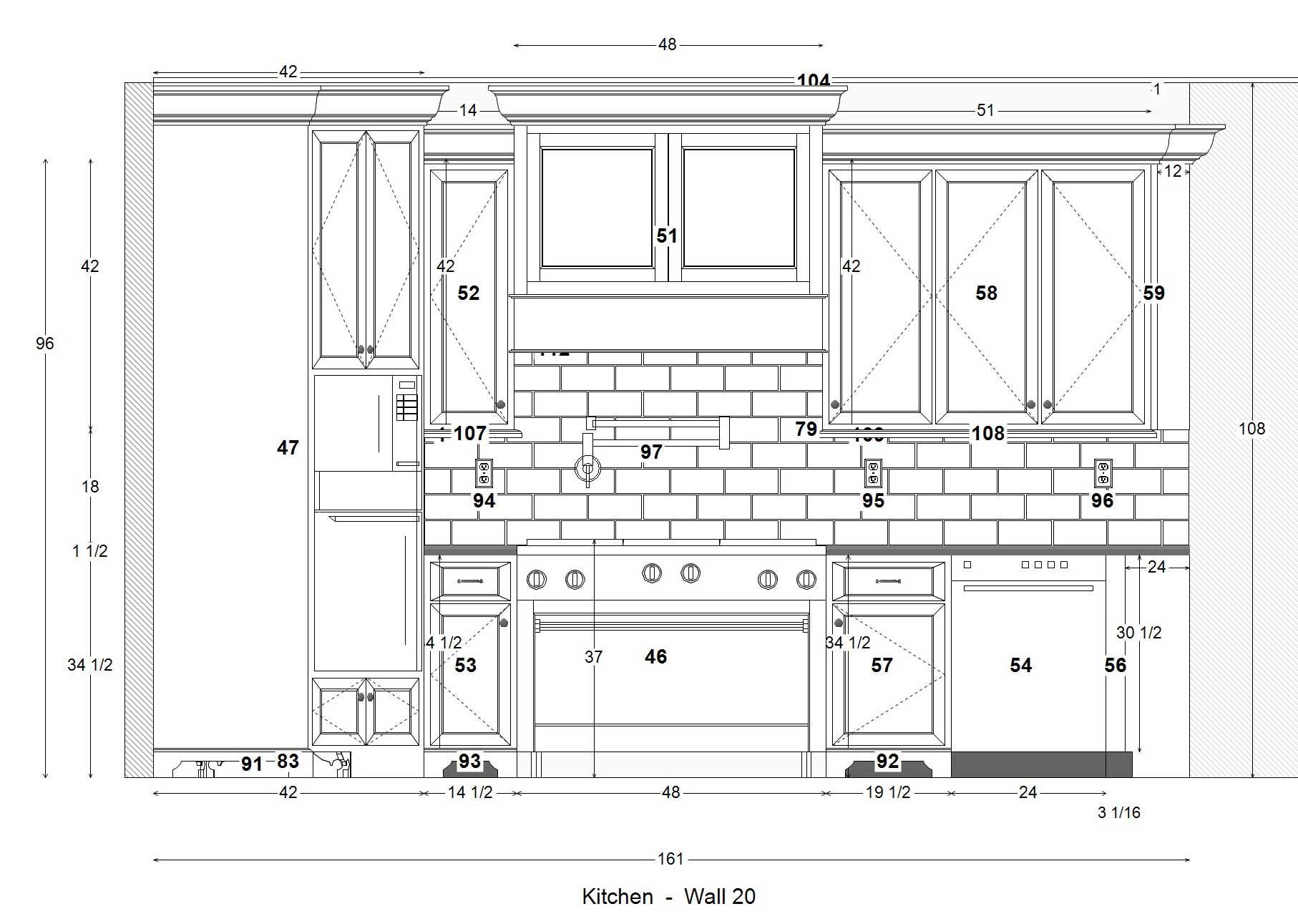 Küchenschränke mit hohen decken  die meisten alltäglich standard oberen gehäuse abmessungen