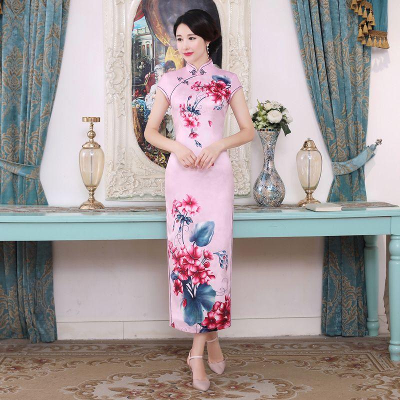 e9dd79d703c Vintage-Plus-Size-Women-New-Qipao-Sexy-Short-Sleeve-Cheongsam ...