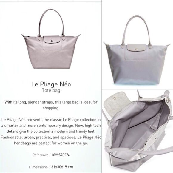 123814757cc1 ⭐️RARE⭐️Longchamp  Le Pliage  Neo Large Nylon bag! See above description  for details ☝ ! Still editing pics so I apologize for the poor quality.