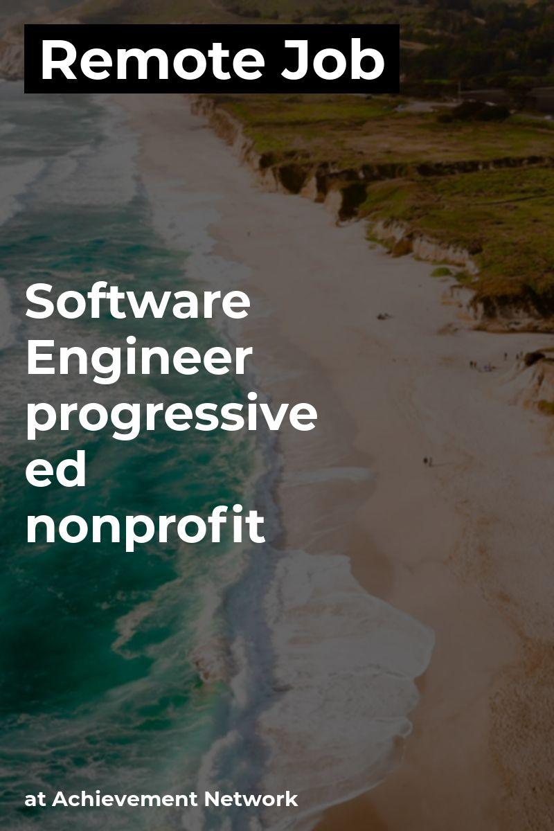 Remote Software Engineer at Achievement Network java