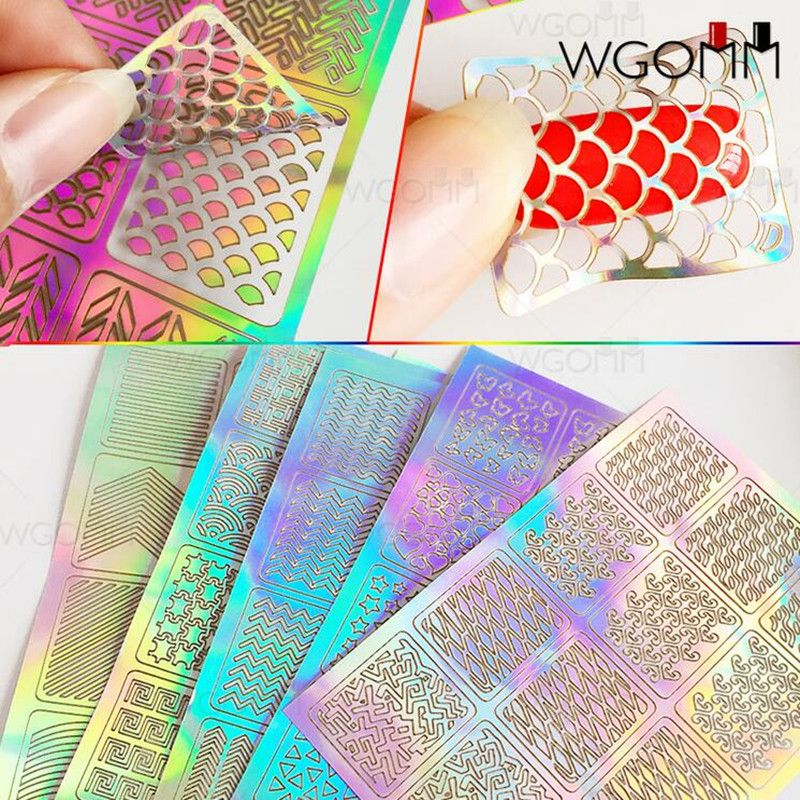 Like and Share if you want this 12 Tips/Sheet DIY Fashion Women Nail ...