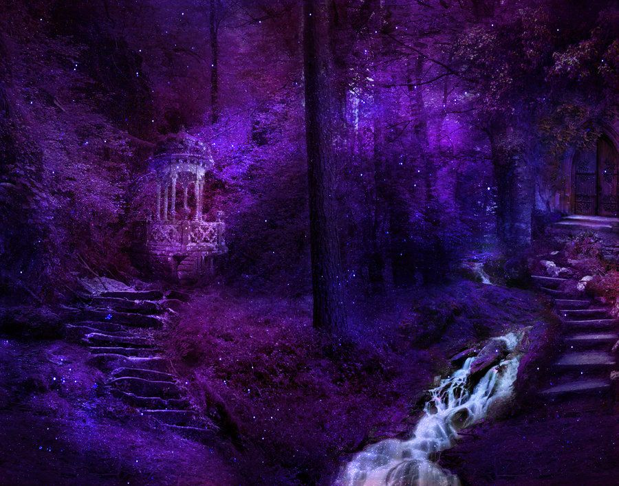 magic forest background by Allaniya on DeviantArt ...