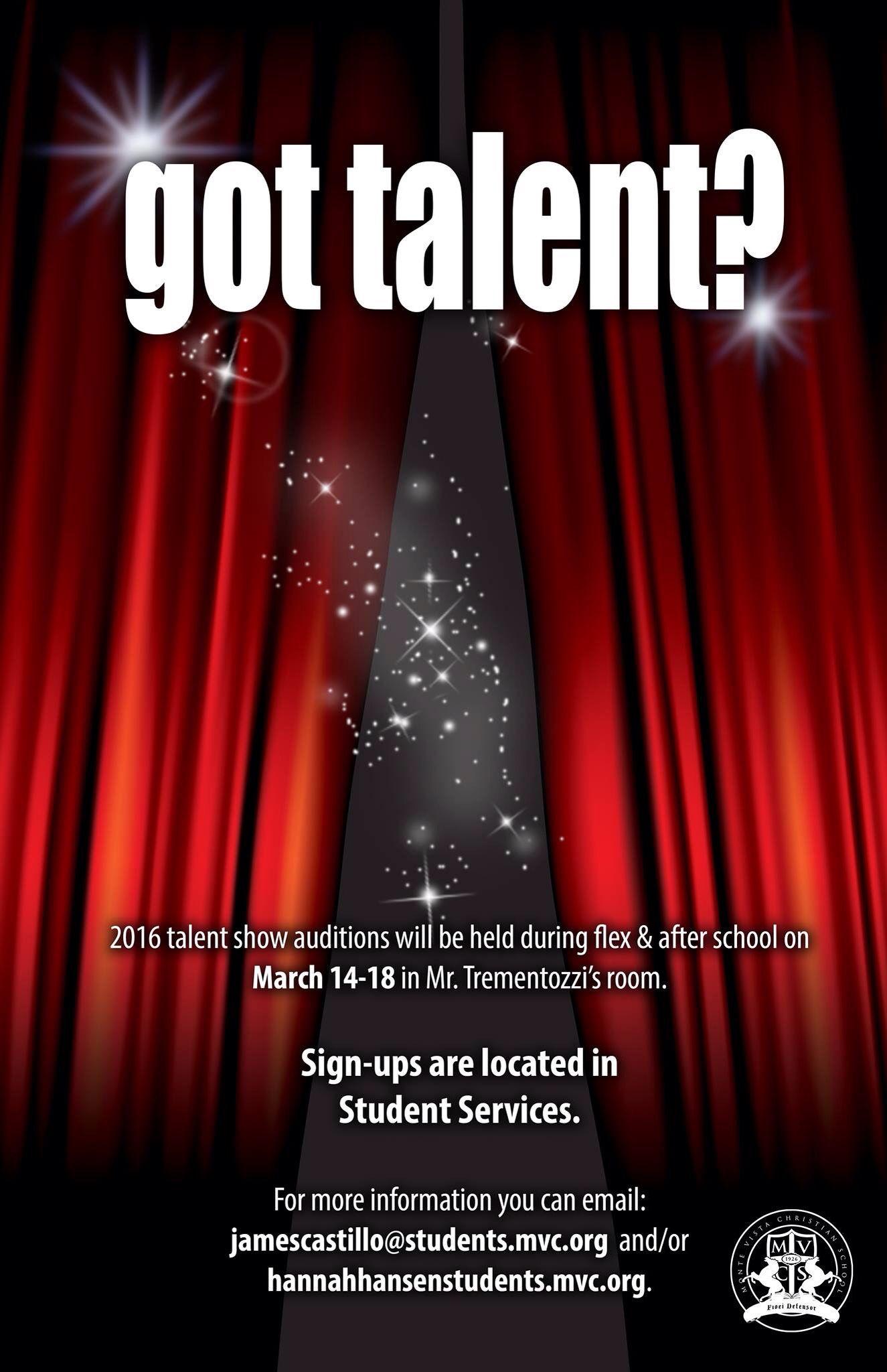 Mvcs Talent Show Flyer Template Talent Show Poster Template Free talent show flyer template