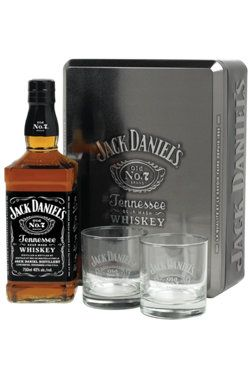 pour l 39 amateur de whiskey am ricain coffret jack daniel 39 s avec deux verres 40 id es. Black Bedroom Furniture Sets. Home Design Ideas