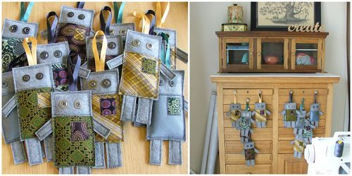 Cute use for old ties