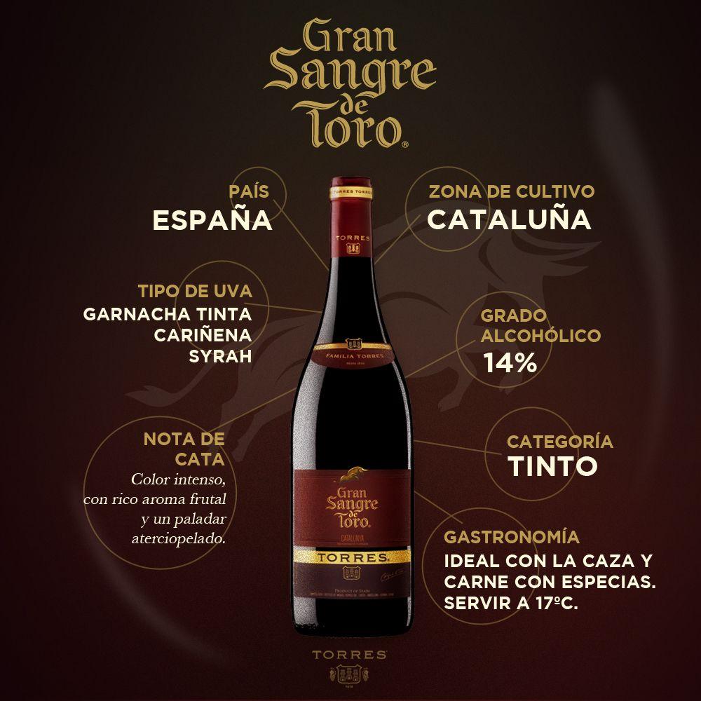 Vino Gransangredetoro Wine Wine Chart Wine Bottle