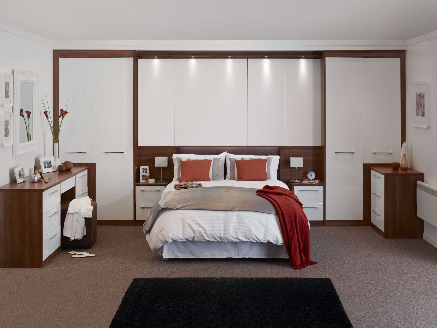 Built In Bedroom Furniture Designs Custom Fitted Wardrobe Design Ideas For Bedroom  Bedroom